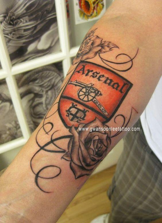 Arsenal Tattoos Arm