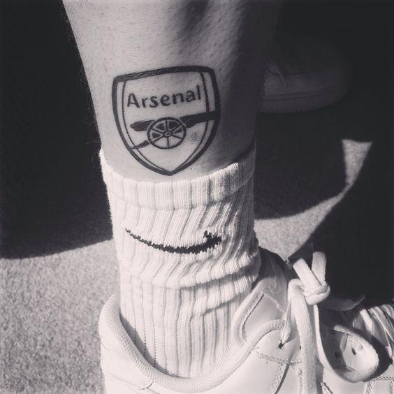 Arsenal Tattoos Leg