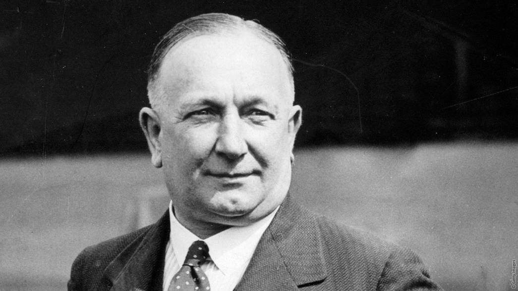 Arsenal managers past and present - Herbert Chapman - 403 games as manager